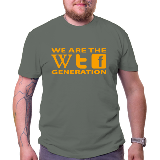 Tričko WTF generation