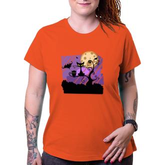 Halloween Tričko Zátiší halloweenské noci