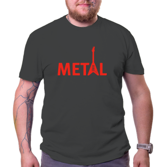 Pánské tričko Metal