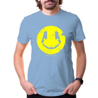Pánské tričko Music smile