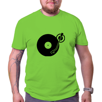 Párty Pánské tričko Vinyl