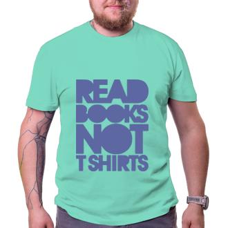Vtipné tričko Read books
