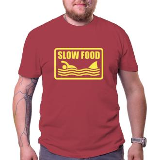 Pánské tričko Slow food