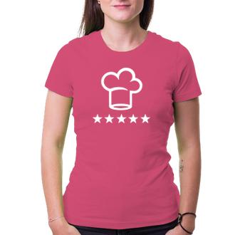 Tričko pro kuchařku Cheff