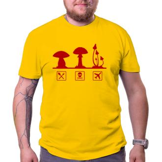 Pánské tričko Mashrooms