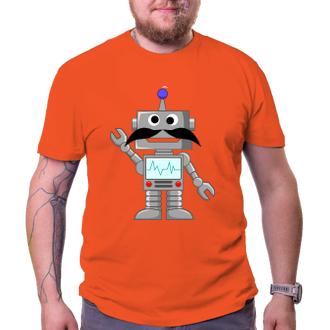 Movember Tričko Robot