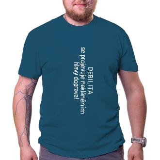 Vtipné tričko Debilita