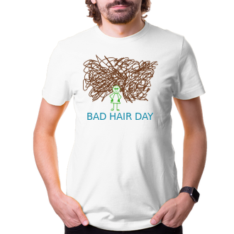 Humor Bad hair day