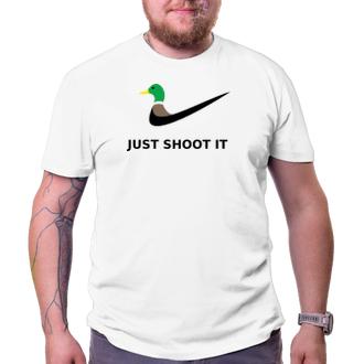 Myslivci Tričko Just shoot it