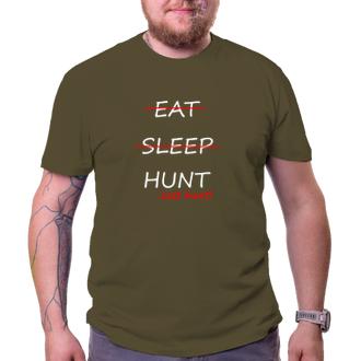 Myslivci Pánské tričko Just hunt!