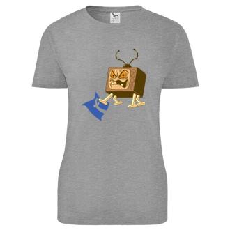 Dámské tričko Edna televizní bedna versus Facebook