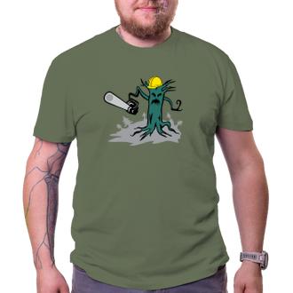 Pánské triko Chraňme naše lesy