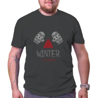 Tričko Winter is coming
