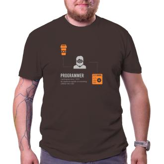 Tričko Programmer-caffeine