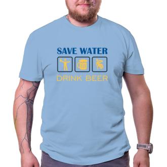 Tričko Save water