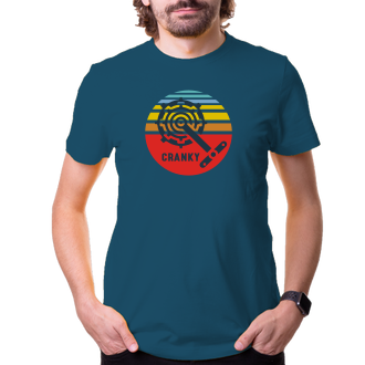 Cyklisté Pánské tričko Cranky