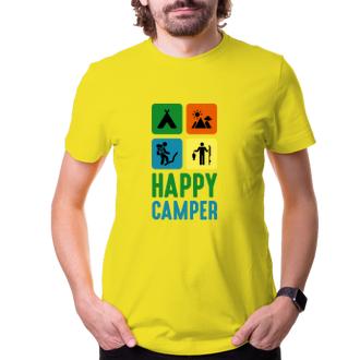 Pánské tričko Happy camper