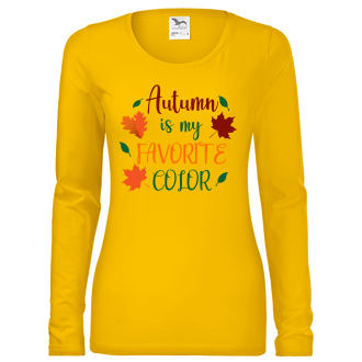 Pro páry a zamilované Dámské tričko Podzim