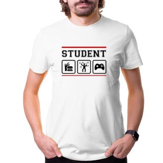 Párty Tričko pro studenty Student Life