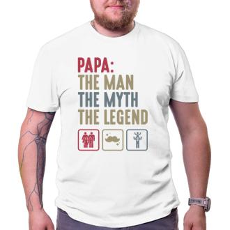 Pro tatínky Tričko Papa