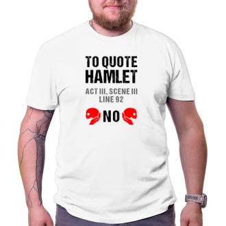 Pánské tričko Hamlet