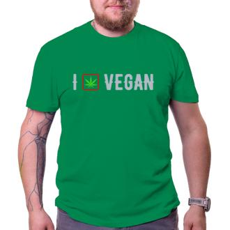 Pánské triko I vegan