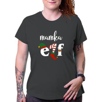 Vánoční tričko pro mamku