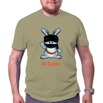 Vtipné tričko Králík ekoterorista