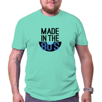 K narozeninám Narozeninové tričko Made in the 80's