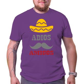 Pánské tričko Adios amigos