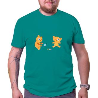 Triko Medvídci hrají kuličky