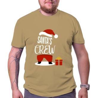 Vánoce Triko Santa's crew