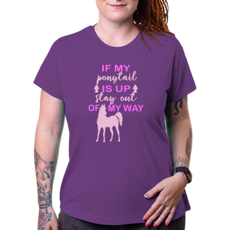 Koně a koňáci Triko Ponytail