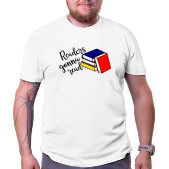Čtenáři Tričko Knihomol