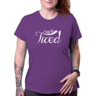 Tričko Unavená maminka