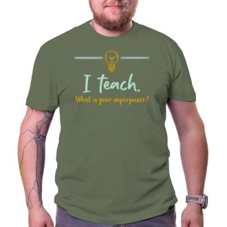 Učitelé Tričko Učitel-hrdina
