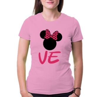 Pro páry Tričko pro zamilované - Minnie