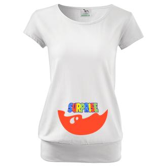 Pro těhotné Těhotenské tričko Surprise