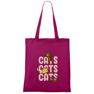 Tašky Bavlněná taška Tři koťata